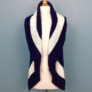 CAbi Skipper Striped Sweater Vest